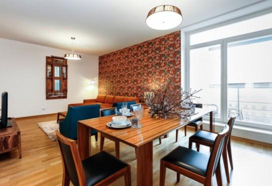 Аренда современной авторской 4-комнатной квартиры с двумя ба.